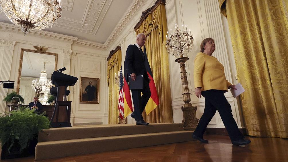 Desde Estados Unidos, donde está de gira, Ángela Merkel hizo declaraciones sobre la magnitud de la tragedia.