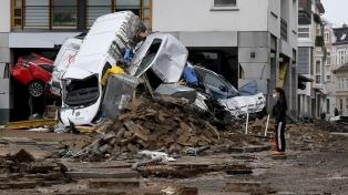 El temporal ya dejó 129 muertos en Europa, 103 de ellos en Alemania