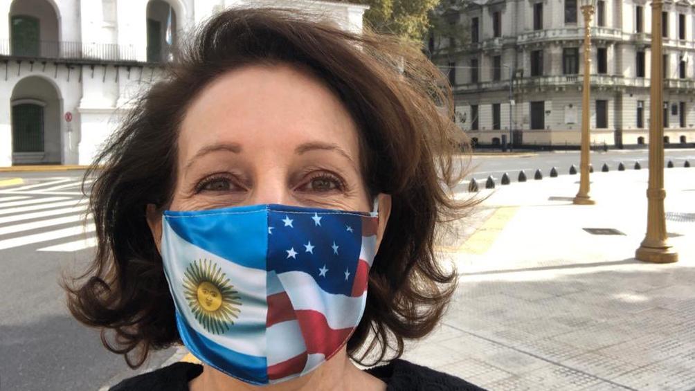 MaryKay Carlson, encargada de negocios de la embajada de Estados Unidos.