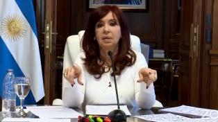 Cristina Kirchner elogió la respuesta de la senadora Sapag a Lousteau