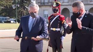 El Presidente agradeció a las Fuerzas Armadas la asistencia para enfrentar la pandemia
