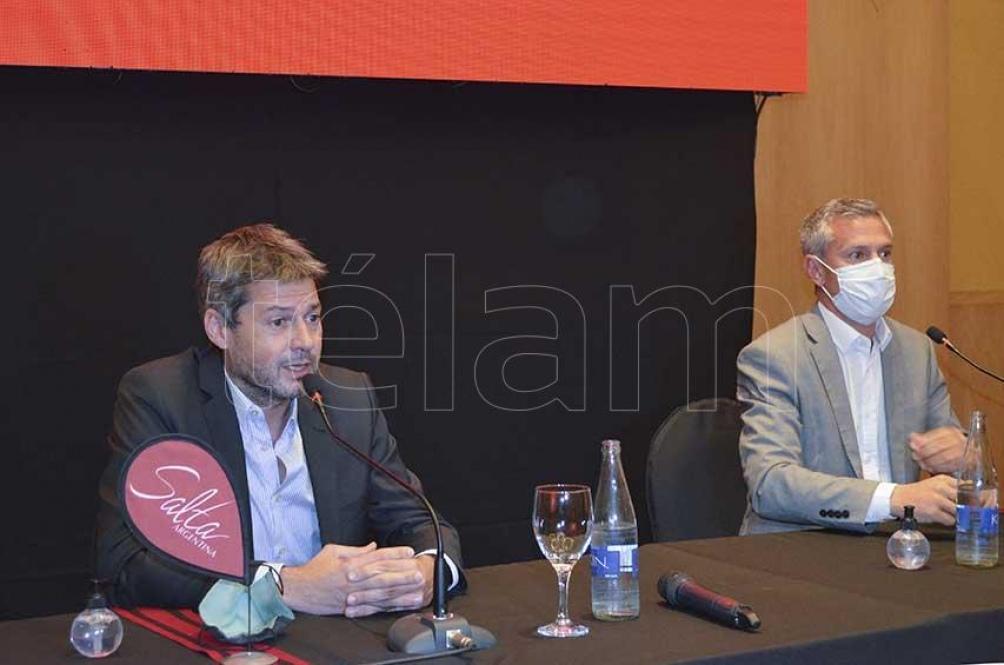 El ministro Lammens en Salta. Foto: Engue Cornu
