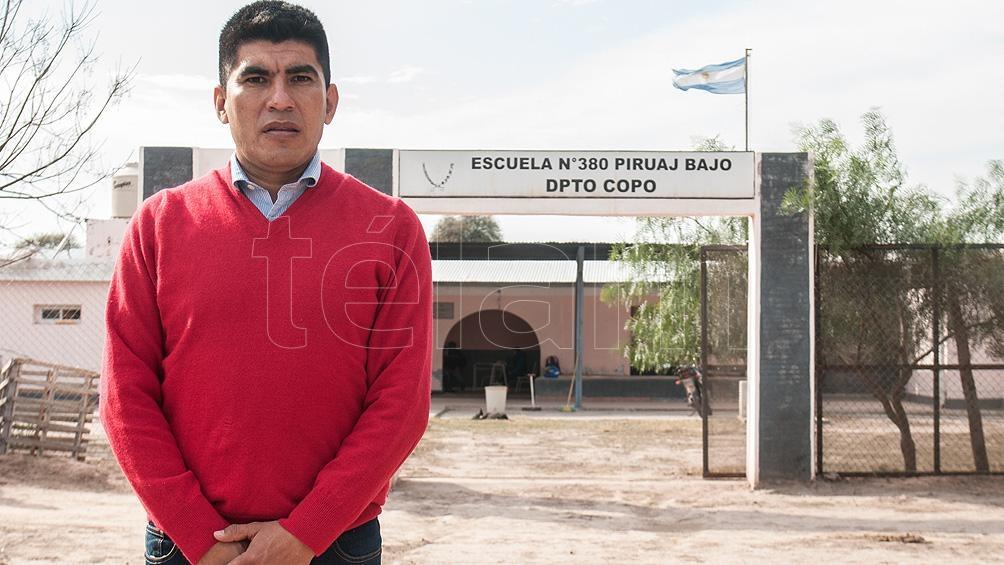 Juan Mansilla, Comisionado de San José de Boquero. Foto: Emilio Rapetti