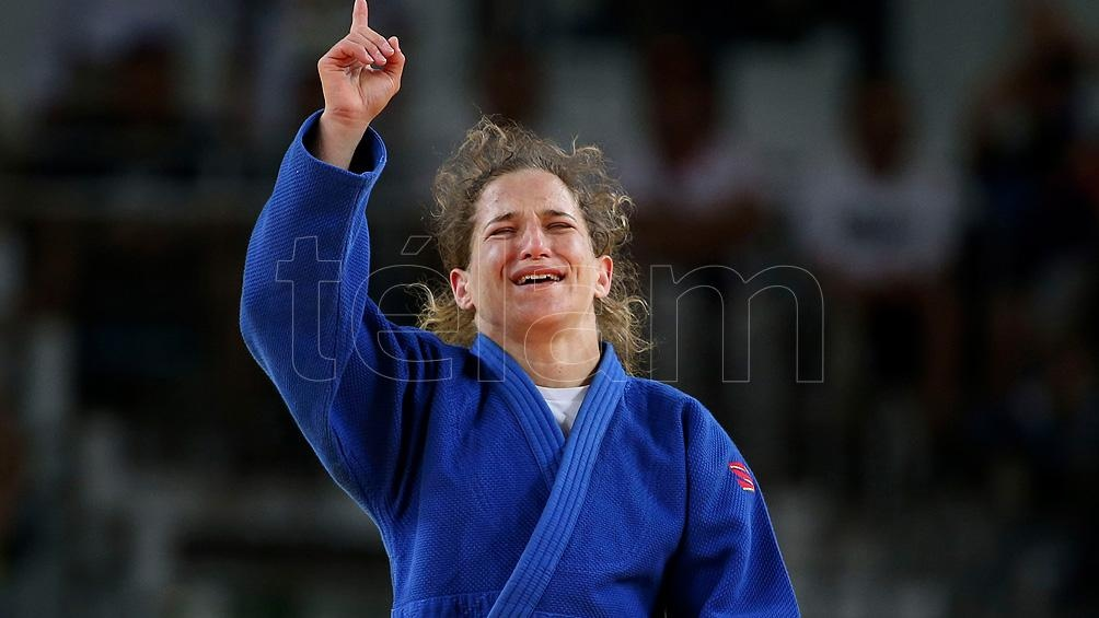 """La """"Peque"""" Pareto fue campeona olímpica en los Juegos de Rio 2016. Foto: Daniel Dabove."""