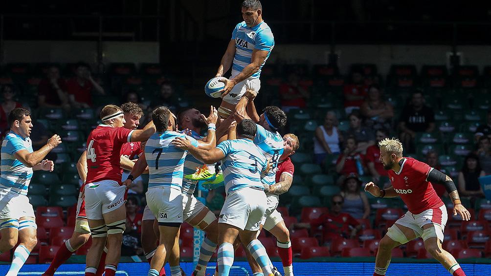 Los Pumas vencieron a Gales y terminaron invictos la gira europea