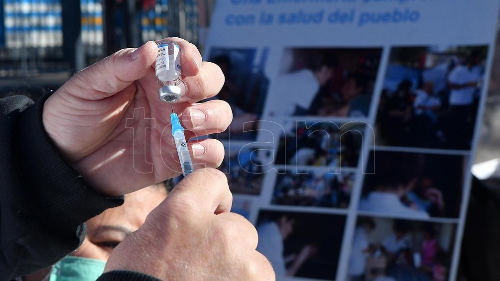 """Carlson: """"La pandemia no conoce fronteras, por lo que es esencial que trabajemos juntos"""". Foto: Victoria Egurza."""