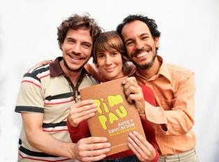 """Pim Pau presenta su libro """"Arte y educación en las infancias"""" y actúa en vacaciones"""
