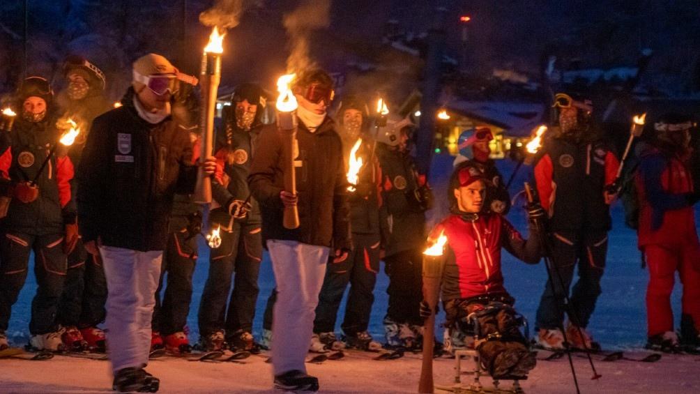 Fiesta del Invierno Fan de la Nieve 2021. Foto: Cristian Urrutia.