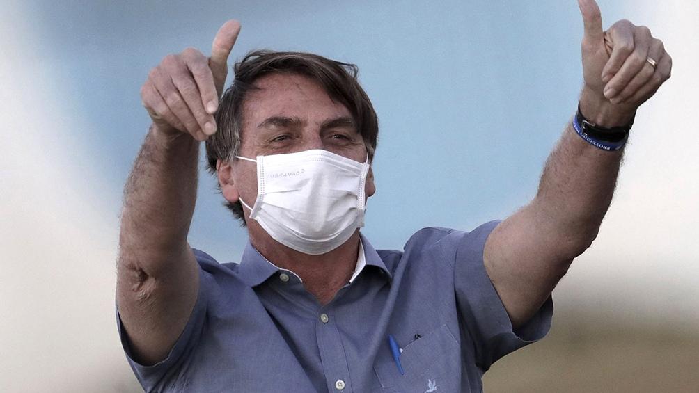 Para Bolsonaro, el máximo trubunal viola la constitución brasileña
