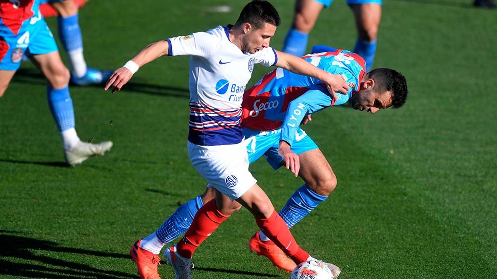 Arsenal y San Lorenzo no salieron del empate en Sarandí.