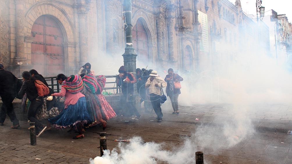 Frederic confirmó que el material bélico enviado a Bolivia fue comprado por la entonces ministra Bullrich (Foto: Pablo Añeli).