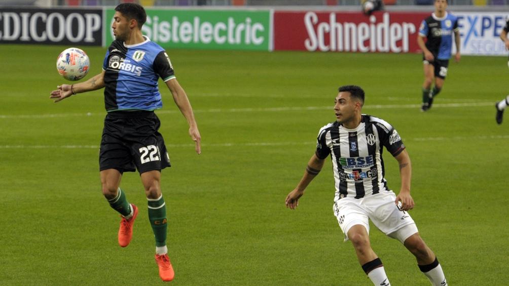 El encuentro finalizó con un empate de 1 a 1. Foto: Emilio Rapetti.