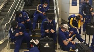 Boca tuvo una convulsionada llegada a Belo Horizonte, antes del duelo con Atlético Mineiro
