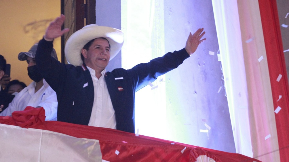 Pedro Castillo asumirá el 28 de julio
