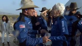 A los 82 años, la aviadora Wally Funk logró revertir décadas de discriminación en la NASA