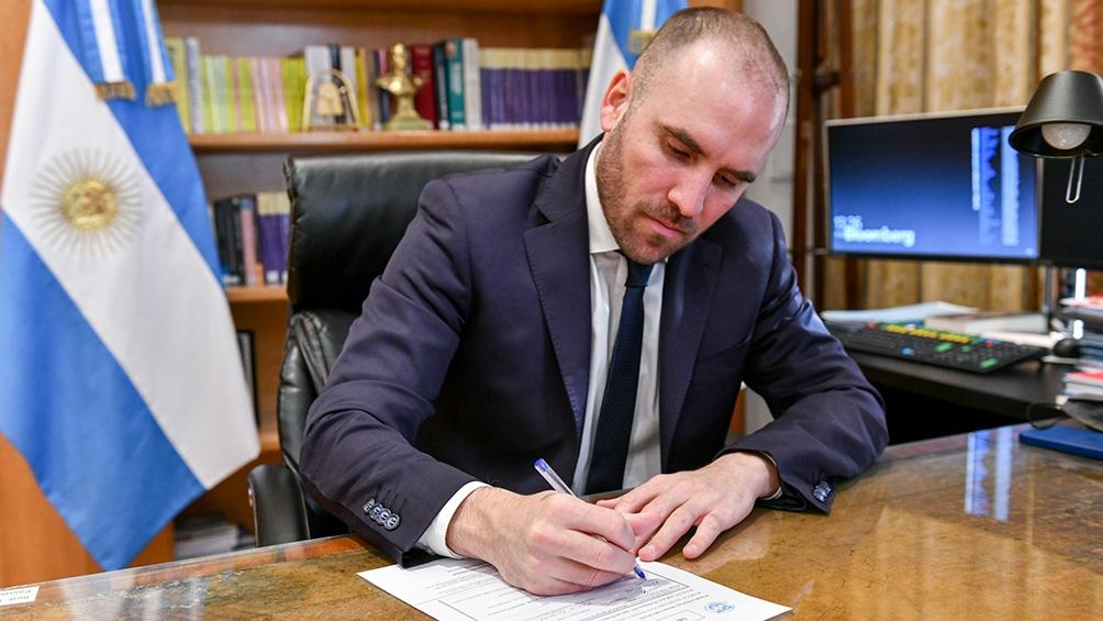 O ministro da Economia, Martín Guzmán