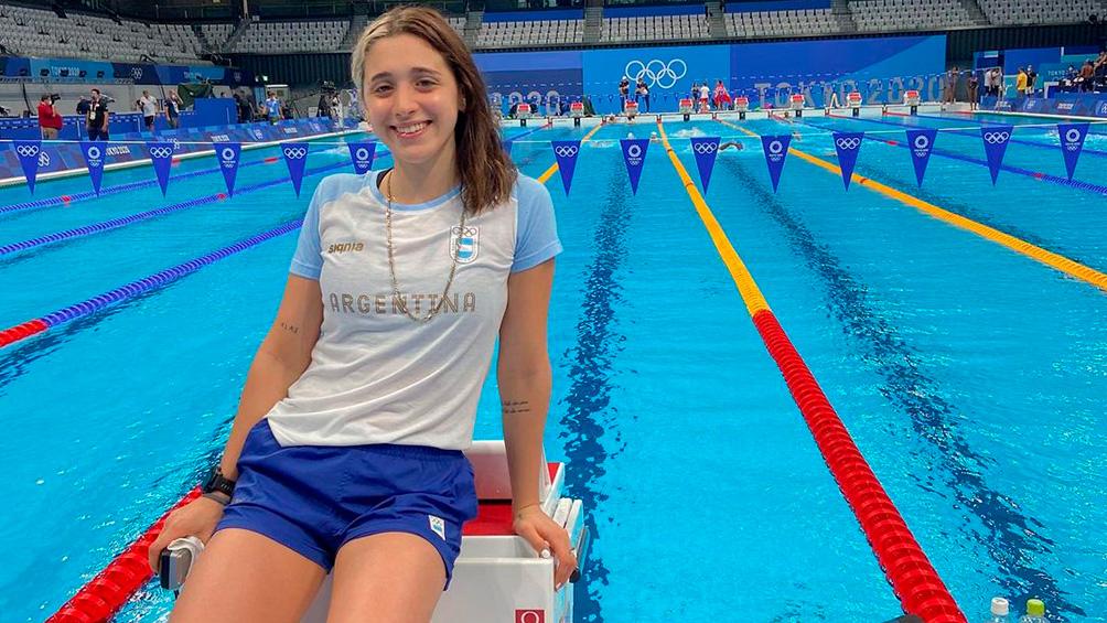 Pignatiello: la talentosa influencer que ilusiona en natación