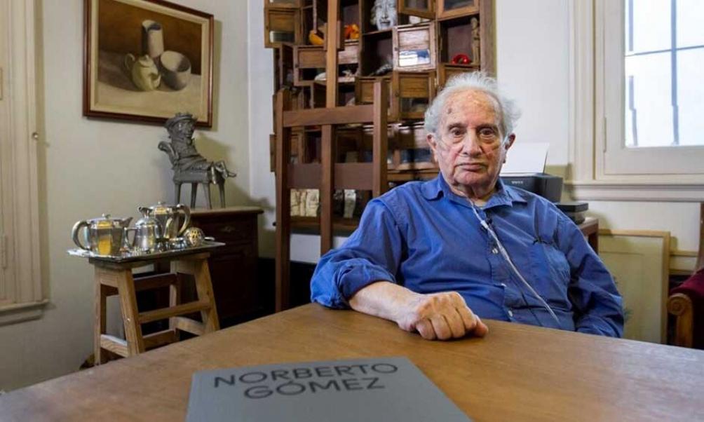Gómez fue una de las ocho figuras distinguidas con el Gran Premio a la Trayectoria 2018 de la entonces Secretaría de Cultura de la Nación.