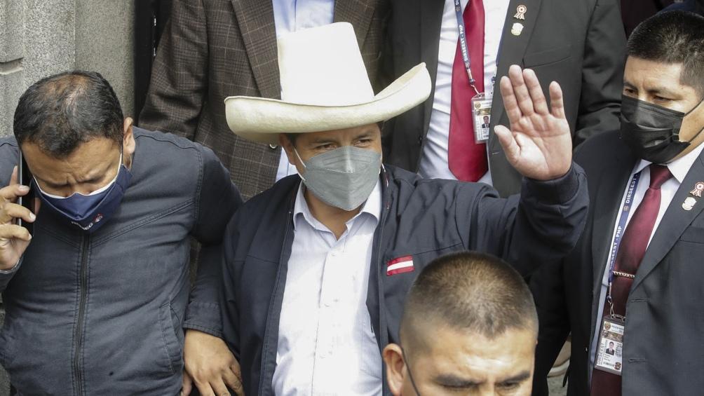 Pedro Castillo asume el miércoles próximo como presidente del Perú.