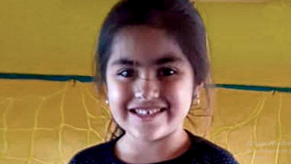 Guadalupe Lucero de 5 años, desapareció hace 40 días en un barrio del sur de la ciudad de San Luis.