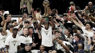 Milwaukee Bucks, campeón de la NBA después de medio siglo