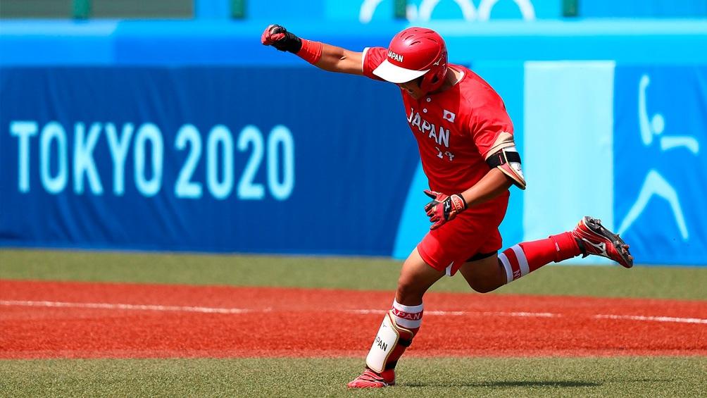 Japón aplastó a Australia en el debut olímpico.