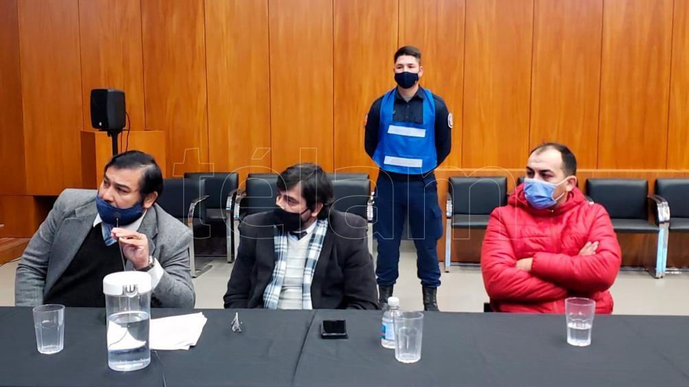 Para el fiscal los cuatro imputados además del homicidio cometieron los delitos de robo y privación ilegítima de la libertad. Foto: Hernán Saravia.