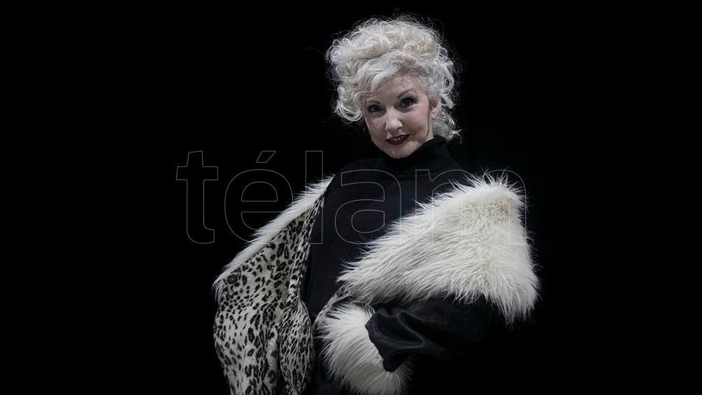 Cores, una actriz de larga trayectoria en teatro y televisión, (foto: Florencia Downes)