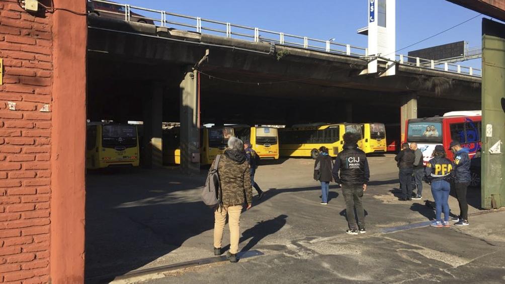 La terminal es cabecera de 4 líneas de colectivo