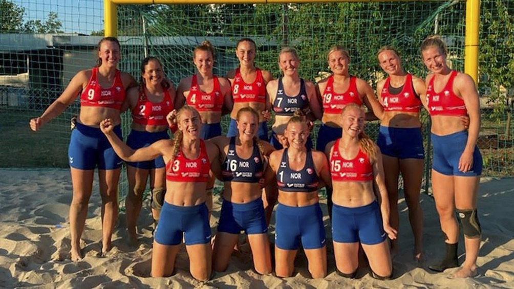 Jugadoras noruegas de handball playa se negaron a usar bikinis por sentirse sexualizadas