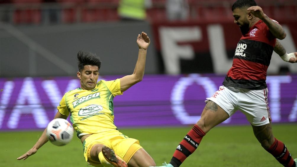 El global terminó 5-1 para los brasileños (Foto: Conmebol).