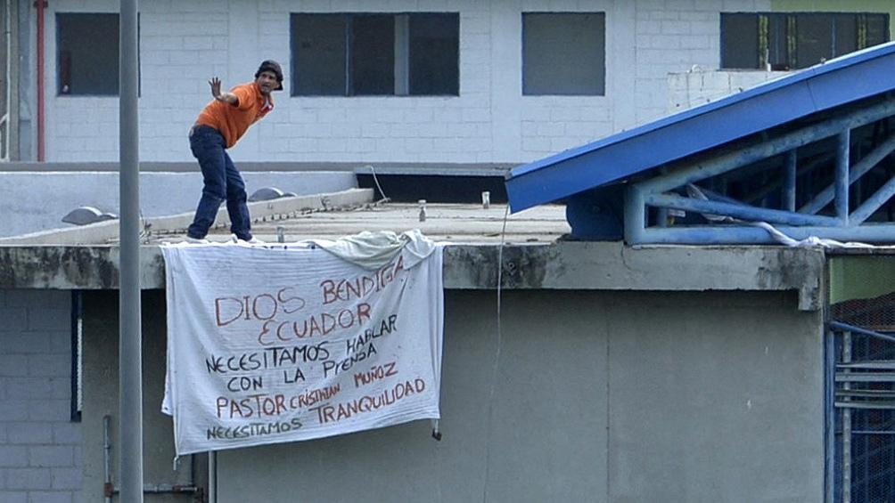Los incidentes ocurrieron en las cárceles de Guayas y de Cotopaxi.