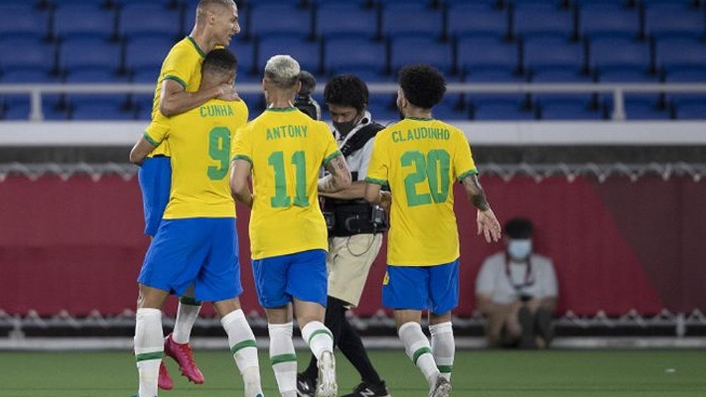 Brasil terminó con lo justo ante Alemania.