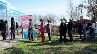 La vacunación avanza en las zonas rurales de La Plata