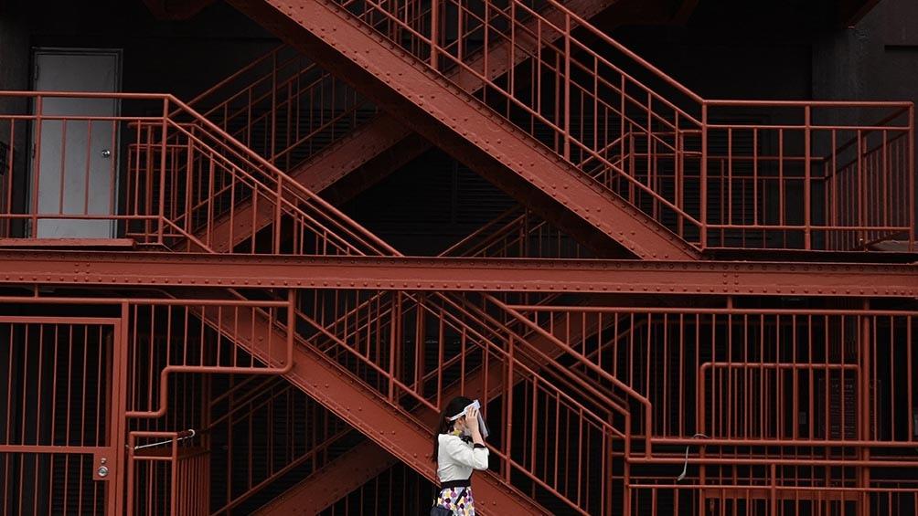 Tokio se prepara para inaugurar los JJOO. Foto: AFP.