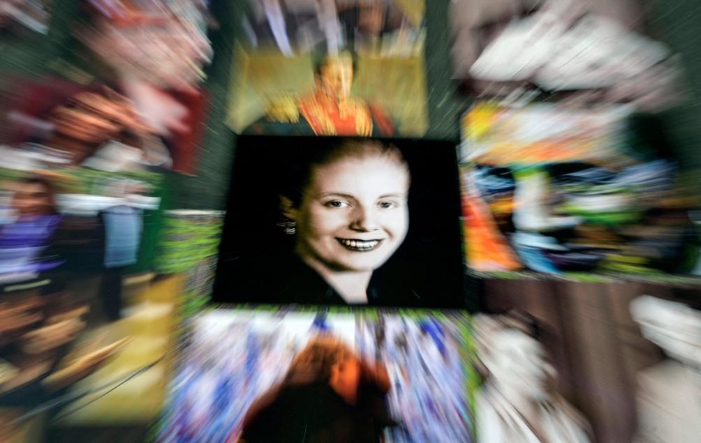 La figura de Eva Perón no sólo sobresalió a su tiempo sino que también trascendió al mundo. (Foto: AFP).