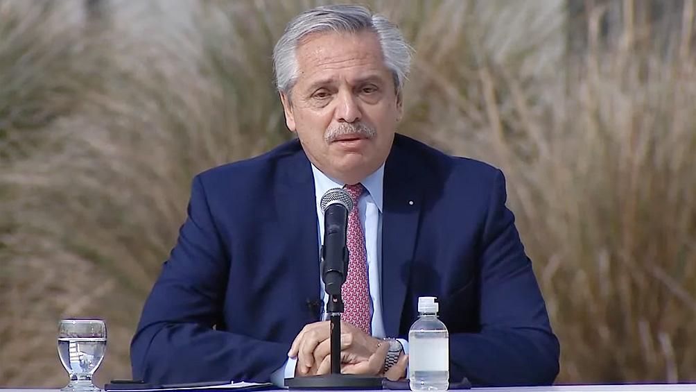 El Presidente participó del acto que se realizó en la Universidad Arturo Jauretche, en la localidad de Florencio Varela.