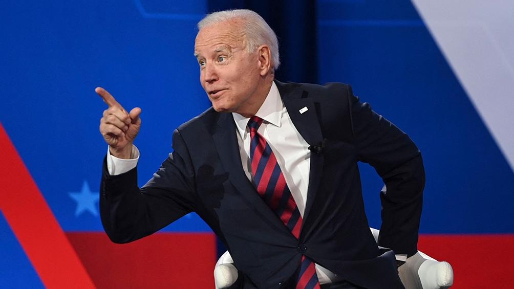 """Biden aseguró que el objetivo es """"defender"""" los intereses de los tres países en la región. Foto: AFP."""