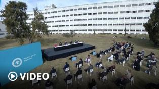 """Fernández llamó a """"defender la universidad pública"""" de los que creen que no es necesaria"""