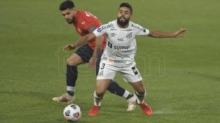 Independiente empató con Santos y quedó eliminado