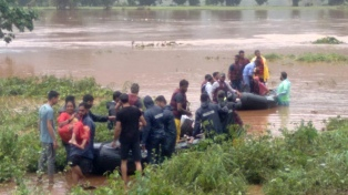 India: al menos 44 fallecidos y decenas de desaparecidos por las lluvias del monzón