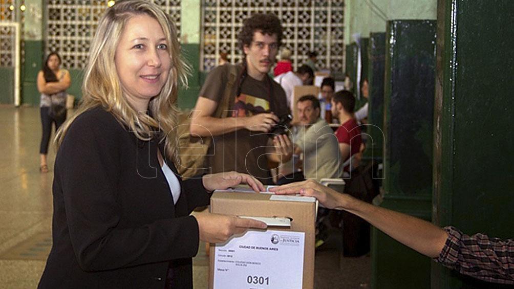 Myriam Bregman precandidata en Ciudad por una de las listas del FIT-U.