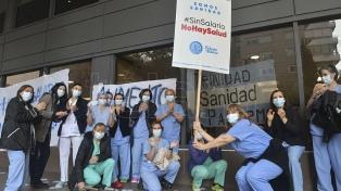Trabajadores de la salud pararon y se movilizaron en todo el país por salarios