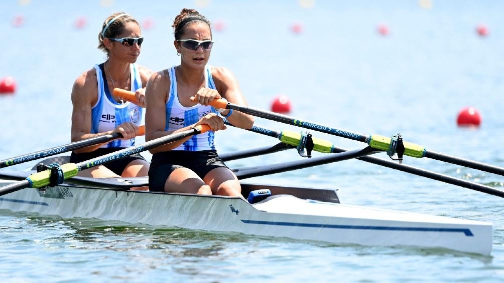 La dupla argentina culminó sexta y disputará el repechaje (foto AFP)