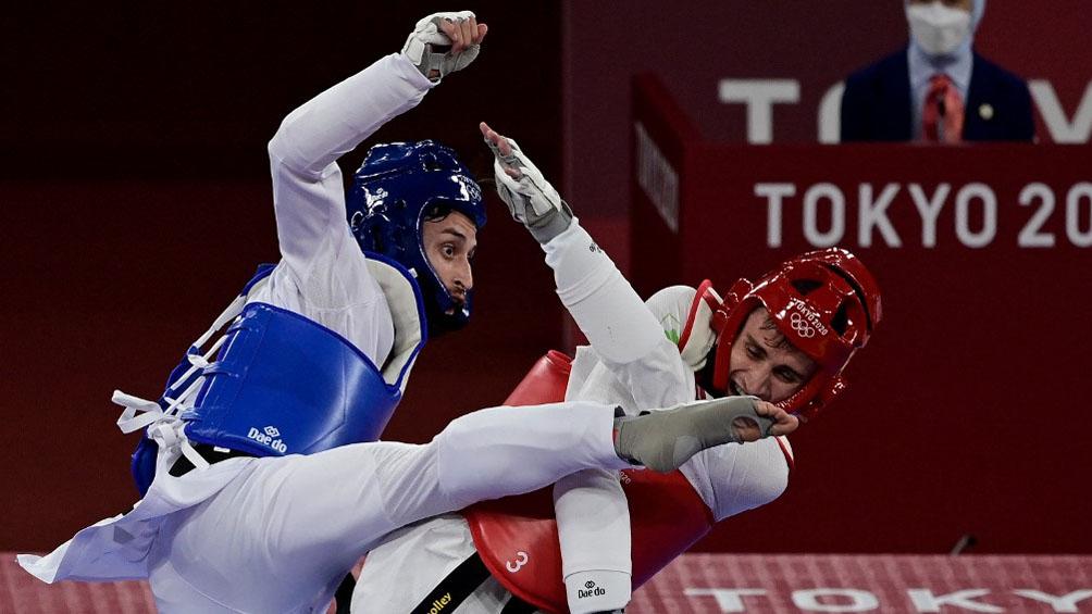 Lucas Guzmán logró una agónica victoria en taekwondo