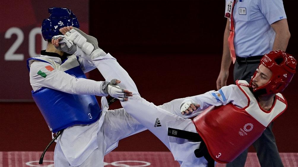 Guzmán cayó en semifinales pero igual intentará ganar la primera medalla para Argentina (Foto: AFP)