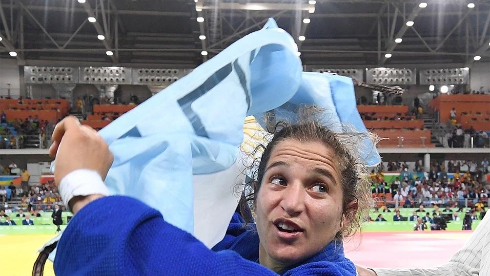 La Peque se llevó un digno diploma en los Juegos Tokio. (Foto: AFP)