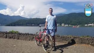 Eduardo Sepúlveda no clasificó en la prueba de ciclismo de ruta