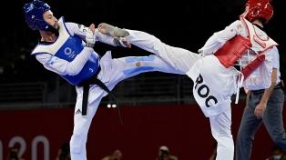 Lucas Guzman cayó ante el ruso Mikahil Artamonov y no alcanzó el bronce en taekwondo