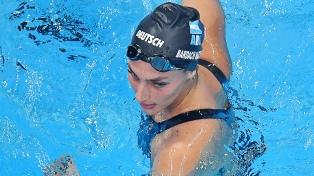 La cordobesa Virginia Bardach quedó eliminada en los 400 metros combinados de natación